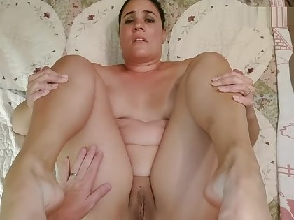 Horny wife gets her ass fucked