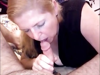Adult wife sucking hubby dick and mountain dew cum